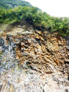 L'ancien premier rappel du troisième cassé Bras de Caverne